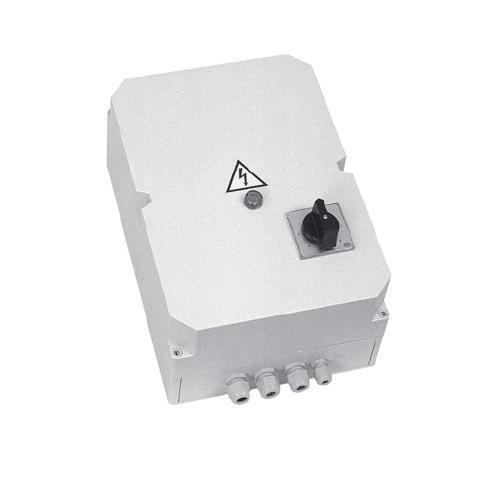 RDV 10 E regulátor otáček