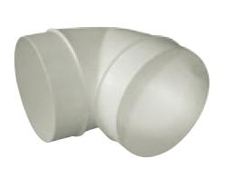 UK-OS-150/90 oblouk plastový 90° pro kruhové potrubí